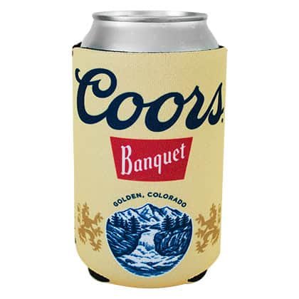 Coors Banquet Can Cooler